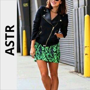 Astr tweed skirt